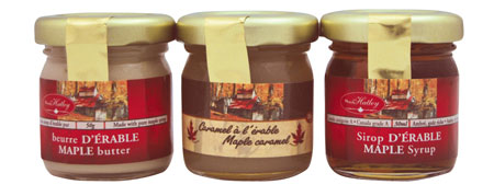 Maple trio : Butter, caramel & syrup