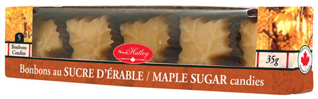 5 maple sugar candy (box)