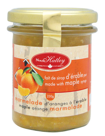 Marmelade d'orange à l'érable