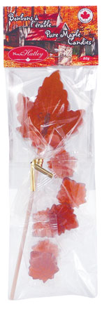 Maple leaf lollipops and Candy - Maple (bag)