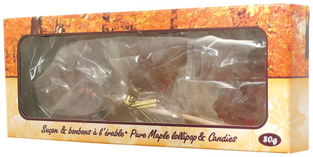 Maple leaf lollipops and Candy - Maple (box)